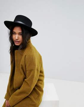 French Connection Oversized Fedora Hat