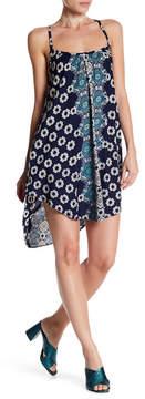 Angie Hi-Lo Print Dress