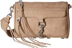 Rebecca Minkoff Mini Mac with Guitar Strap Handbags - SANDSTONE - STYLE
