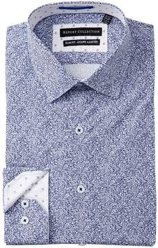 Report Collection Printed Slim Fit Dress Shirt