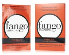 Borghese Fango Essenziali 4 Pack Sheet Mask Set, Energize.
