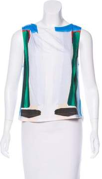 Boy By Band Of Outsiders Printed Sleeveless Top