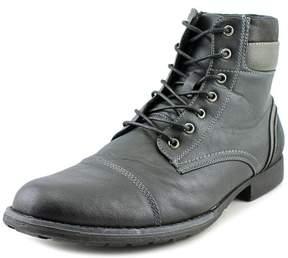 Steve Madden Tegen Men US 8.5 Black Boot