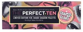 Soap & Glory The Perfect Ten Eye Shadow Palette - 10 X .02oz
