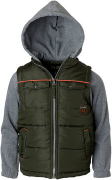 iXtreme Patch Poacket Vest with Sleeves - Boys Big Kid
