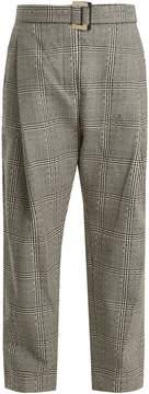 Ellery Kool Aid high-rise checked wool trousers