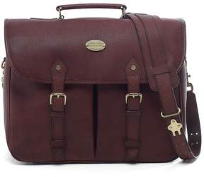 Brooks Brothers Football Leather Briefcase