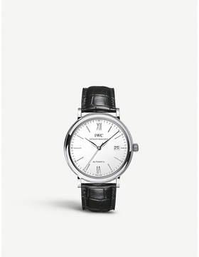 IWC IW356501 portofino stainless steel watch