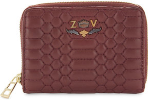 Zadig & Voltaire Mini ZV Scales leather wallet