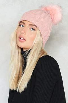 Nasty Gal nastygal Hot Headed Pom Pom Beanie