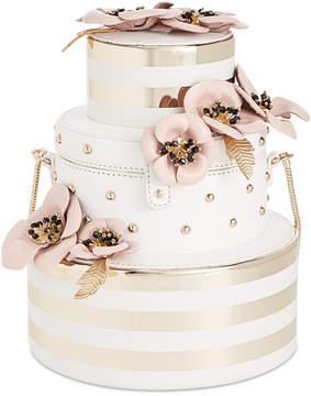 Kate Spade Wedding Belles Wedding Flower Cake Mini Clutch - GOLD - STYLE