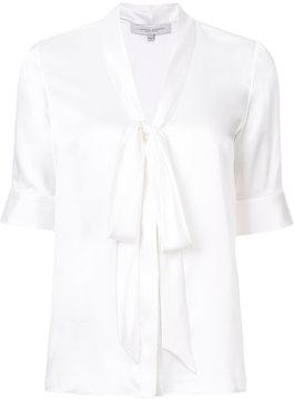 Carolina Herrera pussybow neck blouse