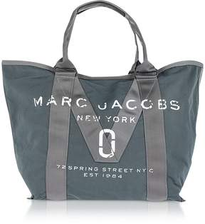 Marc Jacobs New Logo Graphite Cotton Tote