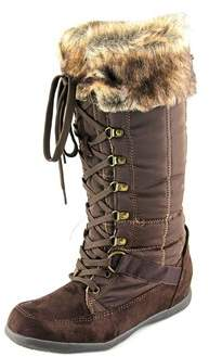 Zigi Madalyn Women Round Toe Synthetic Brown Winter Boot.