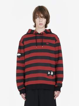 McQ Monster Stripe Hoodie