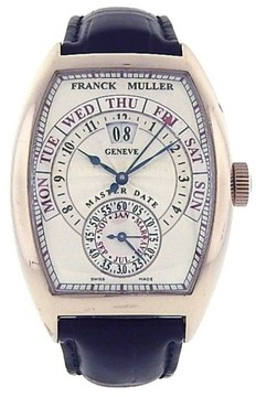 Franck Muller Master Date 8880 GD 18K Gold Automatic Annual Calendar 40mm Mens Watch