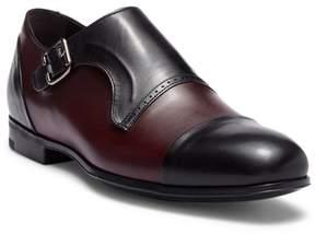 Bacco Bucci Pinelli Cap Toe Monk Strap Loafer
