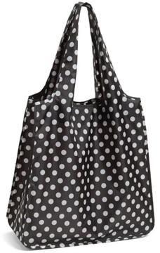 Kate Spade 'Polka Dot' Reusable Shopping Tote - Black - BLACK - STYLE
