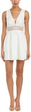 Dolce Vita Talia Linen-Blend A-Line Dress