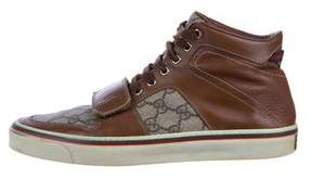 Gucci GG Plus High-Top Sneakers