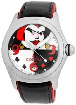 Corum Bubble Joker Stainless Steel Automatic Mens Strap Watch