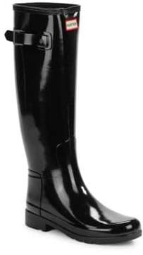 Hunter Refined Tall Gloss Rain Boots