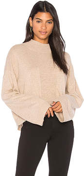 ATM Anthony Thomas Melillo Alpaca Mock Neck Sweater