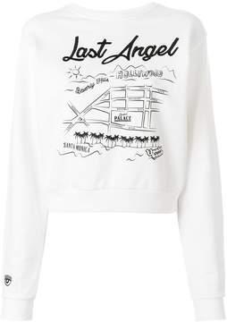 Chiara Ferragni Last Angel sweatshirt