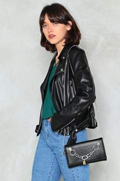 Nasty Gal nastygal WANT Keys to Your Love Vegan Leather Crossbody Bag