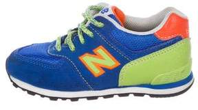 New Balance Boys' Suede Sneakers