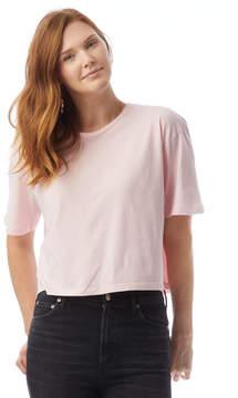 Alternative Apparel Cropped Drop Sleeve T-Shirt