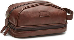 Perry Ellis Double Compartment Travel Kit