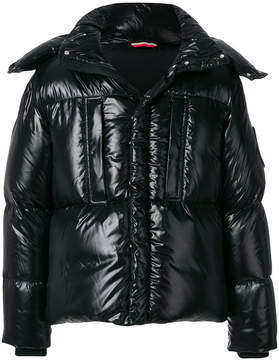 Moncler glossy padded jacket