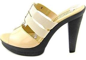 Callisto Burbon Synthetic Platform Sandal.
