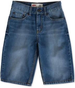 Levi's 505 Regular Fit Denim Shorts, Big Boys (8-20)