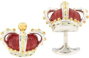 Deakin & Francis Men's Crown Cufflinks