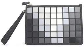 Anya Hindmarch Embossed Leather Clutch