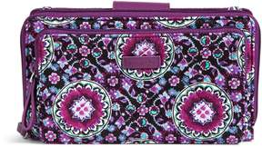 Vera Bradley Iconic Deluxe All Together Crossbody - LILAC MEDALLION - STYLE