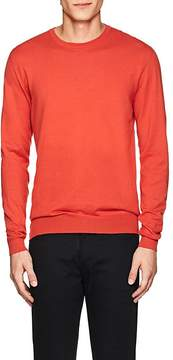 Jil Sander MEN'S COTTON CREWNECK SWEATER