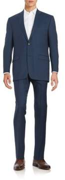 Lauren Ralph Lauren Classic-Fit Two-Piece Birds-Eye Wool Suit