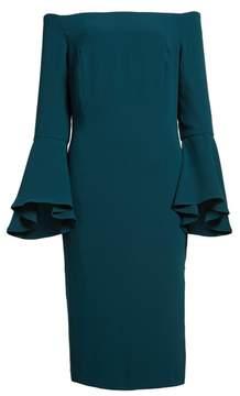 Bardot Women's 'Solange' Off The Shoulder Midi Dress