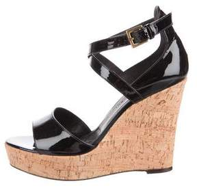 Barbara Bui Patent Leather Wedges