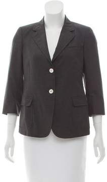 Band Of Outsiders Notched-Lapel Structured Blazer