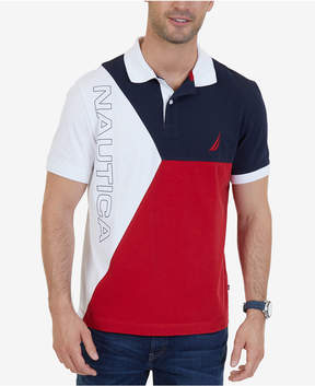 Nautica Men's Heritage Colorblocked Polo, A Macy's Exclusive Style
