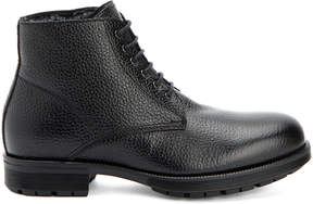 Aquatalia Hayes Waterproof Leather Shearling Boot