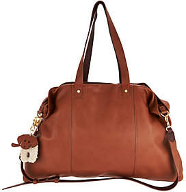 ED Ellen Degeneres As Is Leather Levitt Tote Handbag