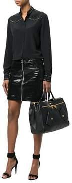 Moschino Women's Black Leather Handbag