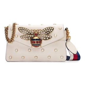 Gucci Broadway leather clutch - NUDE & NEUTRALS - STYLE