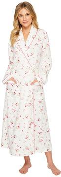 Carole Hochman Diamond Quilt Long Robe Women's Robe