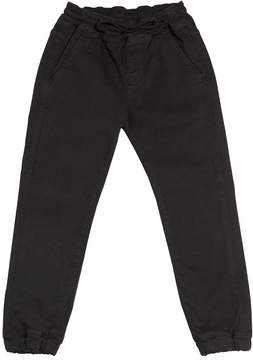 Finger In The Nose Stretch Cotton Gabardine Pants